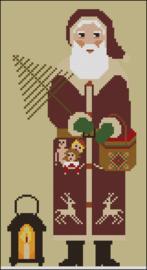 Twinpeak Primitives - Santa with Lantern
