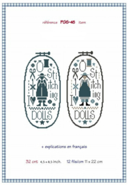 Marjorie Massey - I love dolls & stitching (PGS-45)