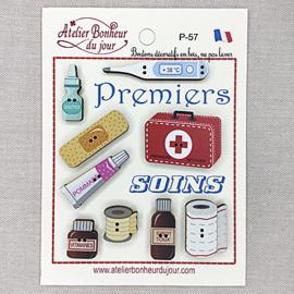 """Atelier Bonheur du Jour -  """"Permiers soins"""" (Eerste hulp)"""