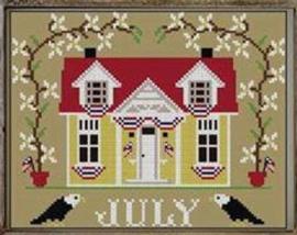 "Twinpeak Primitives - ""I""ll be home series - July Cottage"""