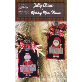 Stitching with the Housewives - Jolly Claus & Merry Mrs Claus