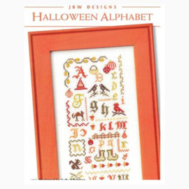 JBW Designs -  Halloween Alphabet