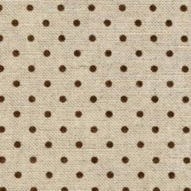 Zweigart - Belfast (12.6 dr/cm - 32 ct) - kleur 5392 - Petit Point (bruin)