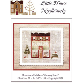 """Little House Needleworks  """"Grocery Store"""" nr. 22 (Hometown Holiday)"""