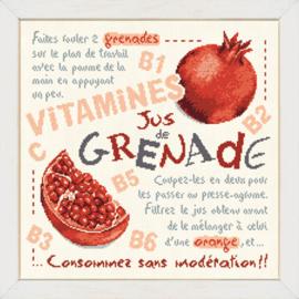 Lili Points - G029 - Jus de Grenade (Granaatappelsap)