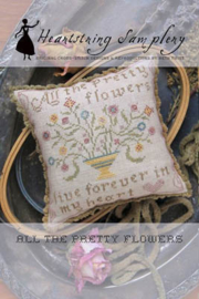 Heartstring Samplery - All the pretty flowers