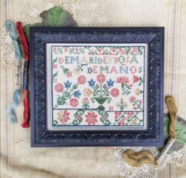 Hello from Liz Mathews - Spanish Rose Sampler