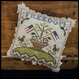 """Little House Needleworks -""""Early Americans"""" - nr. 5 Freedom"""