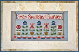 "Country Cottage Needlework - ""Star Spangled Garden"""