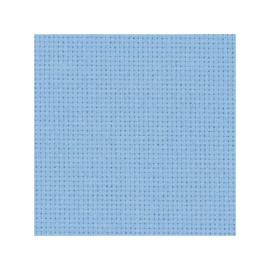Precut - Zweigart  -  Aïda (5.4 st/cm of 14 count) - kleur 503 - lichtlbauw