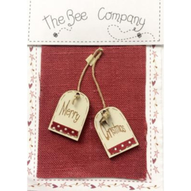 "The Bee Company - Knop ""Merry Christmas"""