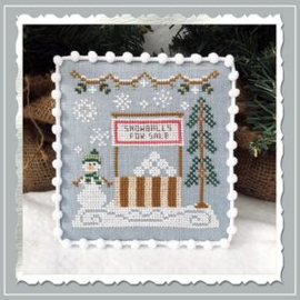 Country Cottage Needleworks - Snowball Stand (Snow Village nr. 8)