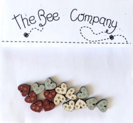 The Bee Company - Mini hartjes