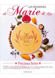 Livre - Les Broderies de Marie & Co - Précieux hiver