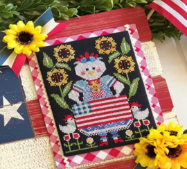 Stitching with the Housewives - Red White and Bantam