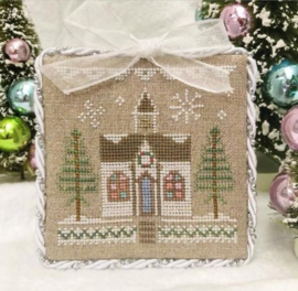 "Country Cottage Needleworks - Glitter Village - ""Glitter House 5"""