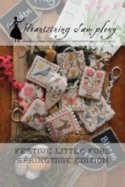 Heartstring Samplery - Festive Little Fobs Springtime edition