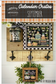 Stitching with the Housewives - Calendar Crates - September