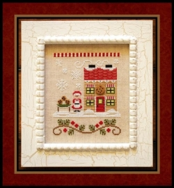 Country Cottage Needleworks - Santa`s House - Mr. Claus Cookie Shop (nr. 4)