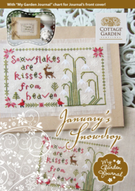 Cottage Garden Samplings - January's Snowdrop