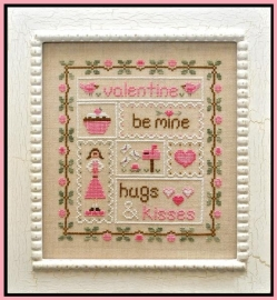 Country Cottage Needleworks -Be my Valentine