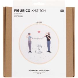 Rico Design - Figurico - Girlfriend & Boyfriend  (n° 100112)