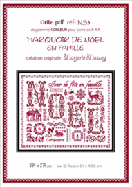 Marjorie Massey - Marquoir de Noël (NS-3)