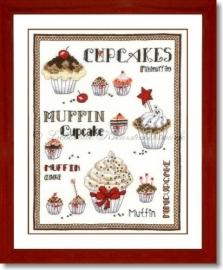 W-70-13 - Cupcakevielfalt, rood