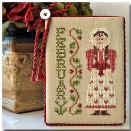 Little House Needleworks - Calendar girls nr. 2 - February