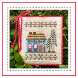 Country Cottage Needleworks - Blue Forest Cottage (Welcome to the Forest  nr. 4)