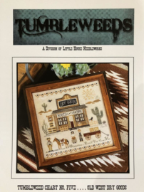 Thumbleweeds - Old West Dry Goods (nr. 5) (Little House Needleworks)