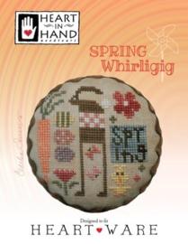 Heart in Hand - Spring Whirligig