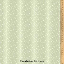 """Acufactum stoffen - Blätterstreifen """"Groen"""""""