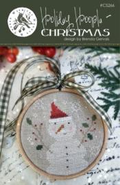 With thy needle & thread - Holiday Hoopla - Christmas