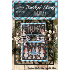Stitching with the Housewives - Truckin' Along - January
