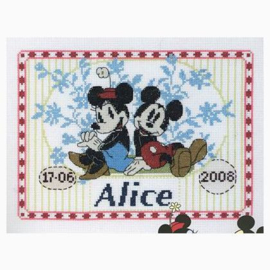 DMC- First Name Sampler - Mickey (BL468/70)