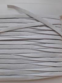 Elastique plat - 4 mm blanc (3 mètres)