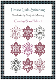 Marjorie Massey - Country Snow Flakes I (PR-23)
