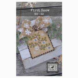 Annie Beez Folk Art - First Snow