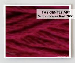 The Gentle Art - Schoolhouse Red