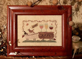 "Homespun Elegance - ""Delivering Wine Grapes"""