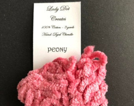 "Chenille-lint jumbo - Lady Dots Creates - Kleur ""Peony"""