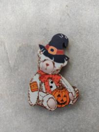 """Atelier Bonheur du Jour -  Teddybear """"Halloween"""""""