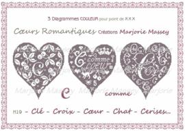 Marjorie Massey - Coeurs romantiques (H-19) (Romantische hartjes)