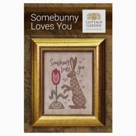 Cottage Garden Samplings - Somebunny Loves You
