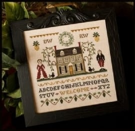 Little House Needleworks - Colonial Welcome