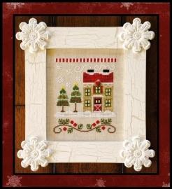 Country Cottage Needleworks - Santa`s House - Christmas Tree Farm (nr. 7)