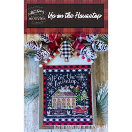 Stitching with the Housewives - Up on the Housetop