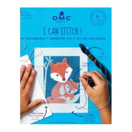 DMC - I can stitch - Gaspar, le renard (Gaspar, de vos)  (ref. C300K)
