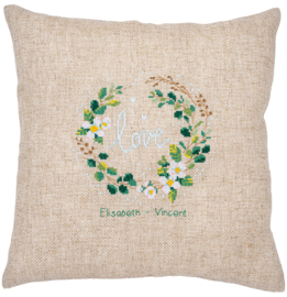"""Vervaco - Coussin à broder """"Love"""" (PN-0185141)"""